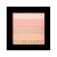 Хайлайтер Revlon Highlighting Palette 020 (Цвет 020 Rose Glow variant_hex_name FAB3C1) revlon пудра для лица photoready powder 7 1 г 3 тона 7 1 г light medium 020