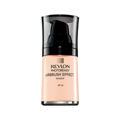 Тональная основа Revlon Photoready Airbrush Effect Makeup 001 (Цвет 001 Ivory variant_hex_name F9C8AD) revlon photoready airbrush effect тональный крем нейтрально бежевый