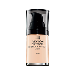 Тональная основа Revlon Photoready Airbrush Effect Makeup 003 (Цвет 003 Shell variant_hex_name EEC2A3) консилер revlon photoready concealer 003 цвет 003 light мedium variant hex name f4ceb1
