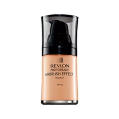 Тональная основа Revlon Photoready Airbrush Effect Makeup 008 (Цвет 008 Golden Beige variant_hex_name CA9B68) revlon photoready airbrush effect тональный крем нейтрально бежевый
