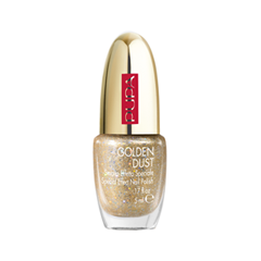 Лак для ногтей Pupa Golden Dust Special Effect Nail Polish Red Queen 2017 Collection (Цвет 001 Golden Dust variant_hex_name B3986D) burberry лак для ногтей nail polish 302 red
