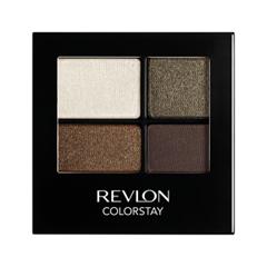 Тени для век Revlon ColorStay 16-Hour Eye Shadow Quad 515 (Цвет 515 Adventurous variant_hex_name 726753)