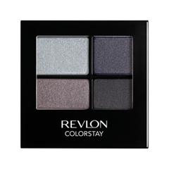 Тени для век Revlon ColorStay 16-Hour Eye Shadow Quad 525 (Цвет 525 Siren variant_hex_name 5E5C69)
