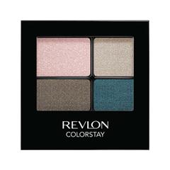Тени для век Revlon ColorStay 16-Hour Eye Shadow Quad 526 (Цвет 526 Romantic variant_hex_name DCBFC1)