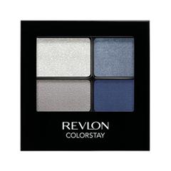 Тени для век Revlon ColorStay 16-Hour Eye Shadow Quad 528 (Цвет 528 Passionate variant_hex_name 7E8C9F)