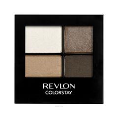 Тени для век Revlon ColorStay 16-Hour Eye Shadow Quad 555 (Цвет 555 Moonlit variant_hex_name 776456)