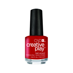 Лак для ногтей CND Creative Play 412 (Цвет 412 Red-y to Roll variant_hex_name AE0000)