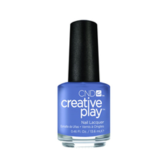 Лак для ногтей CND Creative Play 454 (Цвет 454 Steel the Show variant_hex_name 687FA8)
