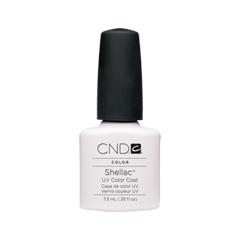 Гель-лак для ногтей CND Shellac 001 (Цвет 001 Cream Puff variant_hex_name F5F6F6)