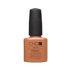 Гель-лак для ногтей CND Shellac 014 (Цвет 014 Cocoa variant_hex_name D49492)