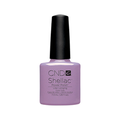 Гель-лак для ногтей CND Shellac 056 (Цвет 056 Lilac Longing variant_hex_name BD88B6) cnd гелевое покрытие uv 056 cnd shellac lilac longing 9856 7 3 мл