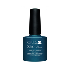 Гель-лак для ногтей CND Shellac Contradictions 90860 (Цвет 90860 Рeacock Plume variant_hex_name 0C2E41) kiss me once cd