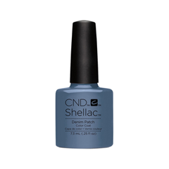 Гель-лак для ногтей CND Shellac Craft Culture 91254 (Цвет  91254 Denim Patch variant_hex_name 697D98) карта памяти microsdhc oltramax 8gb ci10