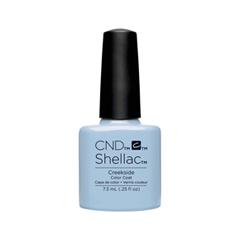 Гель-лак для ногтей CND Shellac Flora & Fauna 90780 (Цвет 90780 Creekside variant_hex_name A4C1D9) cnd гелевое покрытие uv 053a cnd shellac blue rapture 9953 7 3 мл
