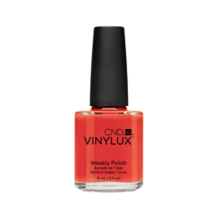 Лак для ногтей CND Vinylux Weekly Polish 112 (Цвет 112 Electric Orange variant_hex_name E75145)