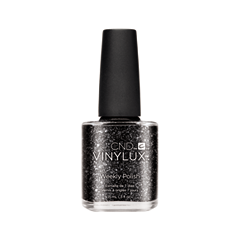 Лак для ногтей CND Vinylux Weekly Polish 7 Days Starstruck Collection 230 (Цвет 230 Dark Diamonds variant_hex_name 191514)