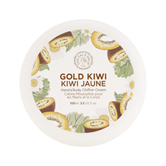 Крем для тела The Face Shop Gold Kiwi Hand  Body Shiffon Cream (Объем 100 мл)