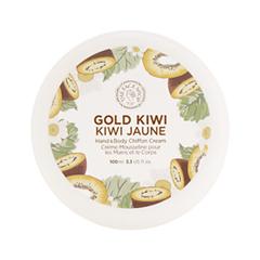 Крем для тела The Face Shop Gold Kiwi Hand & Body Shiffon Cream (Объем 100 мл)  недорого