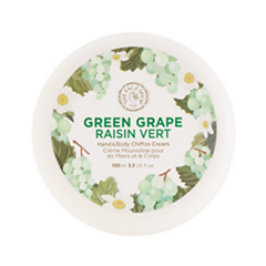 Крем для тела The Face Shop Green Grape Raisin Vert Hand  Body Shiffon Cream (Объем 100 мл)