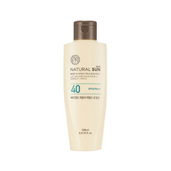 Защита от солнца The Face Shop Natural Sun Eco Body  Family Mild Sun Milk SPF40 PA+++ (Объем 120 мл)