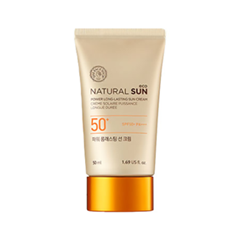 Защита от солнца The Face Shop Natural Sun Eco Power Long-Lasting Sun Cream SPF50+ PA+++ (Объем 50 мл)