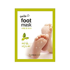 Носочки для педикюра The Face Shop Smile Foot Mask (Объем 18 мл) the face shop маска для носа jeju volcanic lava peel off clay nose mask объем 50 г