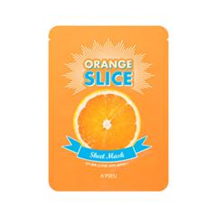 Тканевая маска A'pieu Orange Slice Sheet Mask (Объем 20 г) парфюмированная вода montale orange flowers 20 мл