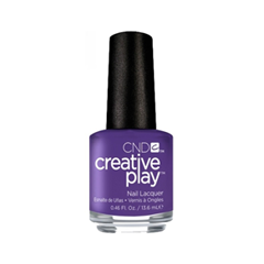Лак для ногтей CND Creative Play 456 (Цвет 456 Isnt She Grape? variant_hex_name 68548F)