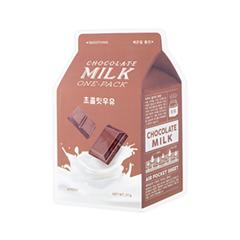 Маска A'pieu Chocolate Milk One-Pack (Объем 21 г) chocolate кошелек chocolate garvey tyvek one size