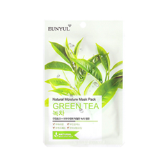 Тканевая маска Eunyul Natural Moisture Mask Pack Green Tea (Объем 23 мл) маска для лица 100 мл eunyul маска для лица 100 мл