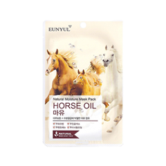 Тканевая маска Eunyul Natural Moisture Mask Pack Horse Oil (Объем 23 мл) маска для лица 100 мл eunyul маска для лица 100 мл