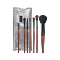 Набор кистей для макияжа Limoni Silver Travel Kit кисть для глаз limoni 35 кисть двусторонняя для теней и подводки
