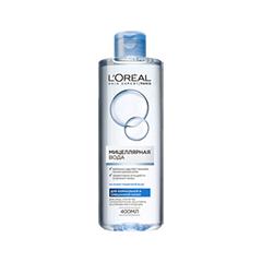 Мицеллярная вода L'Oreal Paris Мицeллярная вода для нормальной и смешанной кожи (Объем 400 мл) вода ducray иктиан увлажняющая мицеллярная вода 400 мл