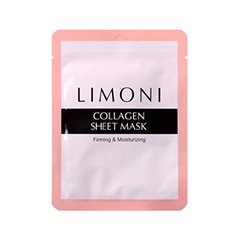 Тканевая маска Limoni Collagen Sheet Mask (Объем 20 г) маска etude house moistfull collagen mask sheet