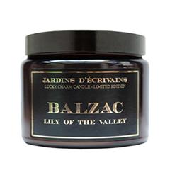 Ароматическая свеча Jardins d'Ecrivains Balzac - Bougie porte bonheur Limited Edition (Объем 500 г)