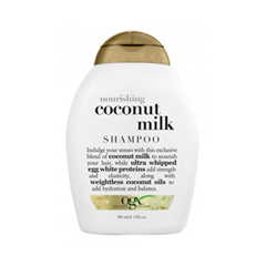 Шампунь OGX Nourishing Coconut Milk Shampoo (Объем 385 мл)