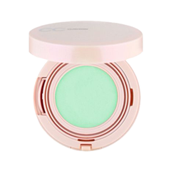 Кушон Tony Moly Luminous Goddess Aura Glowring CC Cushion 01 (Цвет 01 Blooming Mint variant_hex_name C8EACF)