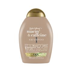 Шампунь OGX Fight Fallout Niacin3  Caffeine Shampoo (Объем 385 мл)