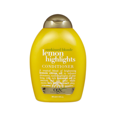 Кондиционер OGX Sunkissed Blonde Lemon Highlights Conditioner (Объем 385 мл)