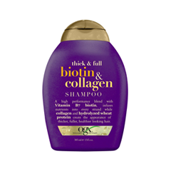 Шампунь OGX Thick  Collagen Shampoo (Объем 385 мл)