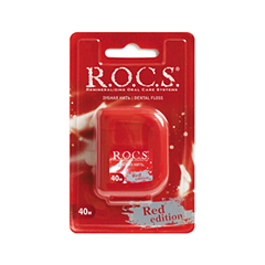Зубная нить R.O.C.S. Red Edition