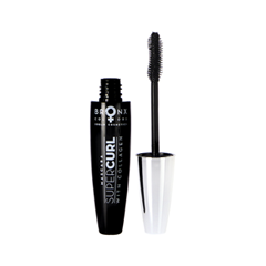 Тушь для ресниц Bronx Colors Mascara SuperCurl (Цвет Black variant_hex_name 000000) тушь для бровей bronx colors eyebrow mascara 03 цвет 03 dark brown variant hex name 674e41