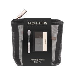Наборы Makeup Revolution Handbag #hacks Brow Kit makeup revolution redemption palette iconic 2 тени для век в палетке 12 тонов 13 г