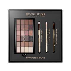 Брови Makeup Revolution Набор для макияжа HD Pro Eyes  Brows