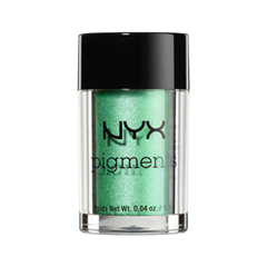 Тени для век NYX Professional Makeup Pigments 10 (Цвет 10 Insomnia variant_hex_name B6ECD2) тени для век nyx professional makeup pigments 08 цвет 08 constellation variant hex name 0a64a0