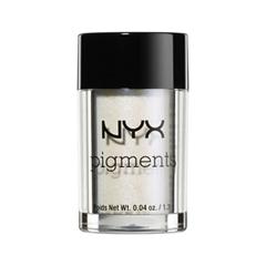 Тени для век NYX Professional Makeup Pigments 11 (Цвет 11 Luna variant_hex_name EAEAEC) nyx professional makeup pigments 02 цвет 02 shanghai sun variant hex name d47441