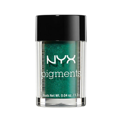 Тени для век NYX Professional Makeup Pigments 12 (Цвет 12 Vermouth variant_hex_name 086A51)
