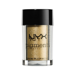 Тени для век NYX Professional Makeup Pigments 13 (Цвет 13 Old Hollywoo variant_hex_name F2E2C8) nyx professional makeup рассыпчатые сияющие пигменты pigments go ham 23