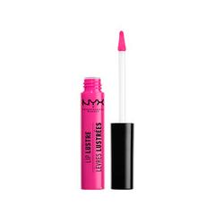 Блеск для губ NYX Professional Makeup Lip Lustre Glossy Tint 03 (Цвет 03 Retro Socialite variant_hex_name E51F81) nyx professional makeup лаковый блеск lip lustre glossy tint lovetopia 10
