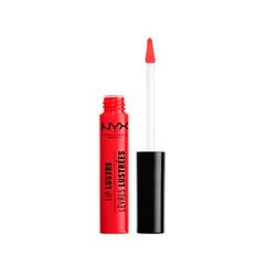 Блеск для губ NYX Professional Makeup Lip Lustre Glossy Tint 04 (Цвет 04 Love Letter variant_hex_name FF2F30)